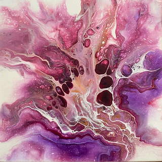 Fluid art by Christina Davidsson