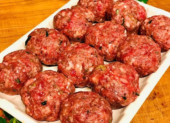 Organic Angus Beef Meatballs with Oregano 400g