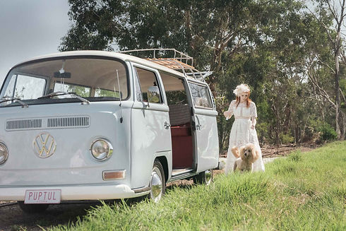 A1 Wash & Grooming | Wedding Kombi Hire | Styled Kombi Shoot