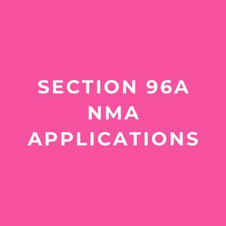 Section 96a Non-Material Amendment (NMA) Applications