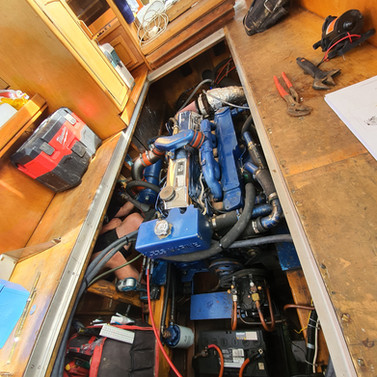Cosmic Plumbing Boat Renovation
