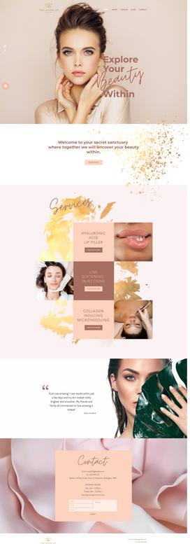 Feminine Beauty Salon Website Design Design.png