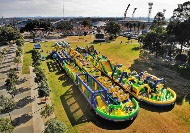 obstacle course | tuff nutterz coomera westfield
