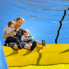 parents and kids at tuff nutterz course
