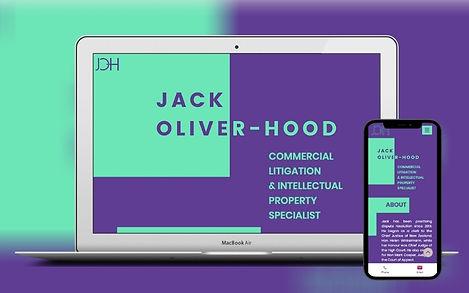 Lawyer Web Design Project Image