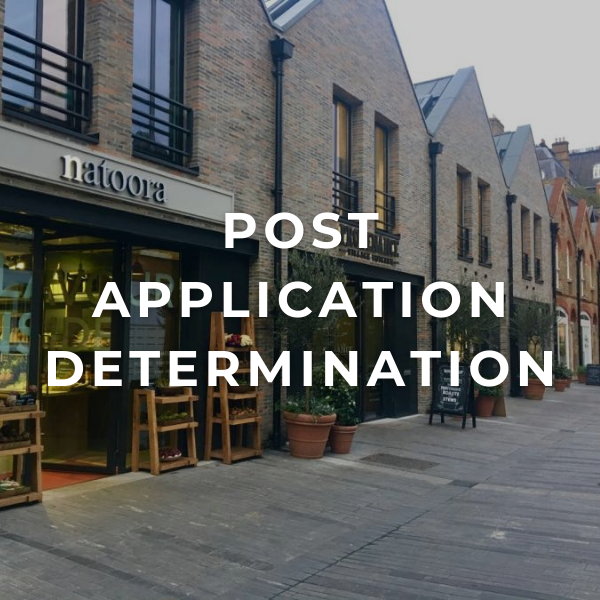 Post Application Determination (Conditions/s106)