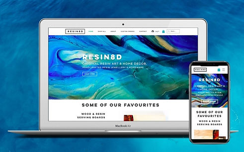 Project Resin8d Web Design
