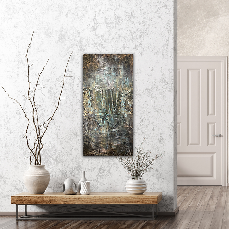 Abstract artwork by Christina Davidsson
