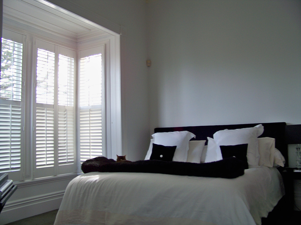 BEDROOM HINGED SHUTTER WINDOW