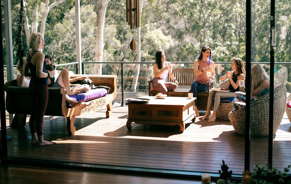 Yoga 4 You Group Shot Of Yoga Retreat