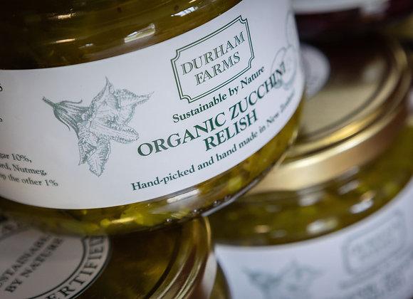 6 x Organic Zucchini Relish 330g