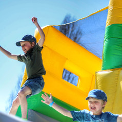 kids party at tuff nutterz course