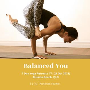 Balanced You 7 Day Yoga Retreat
