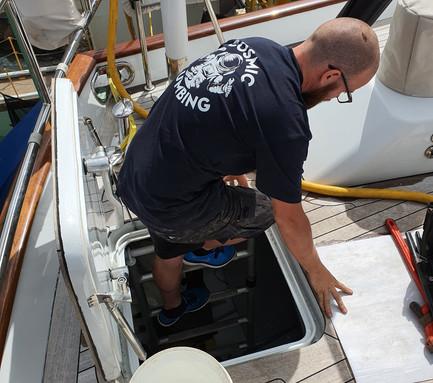 Cosmic Plumbing Project Super Yacht