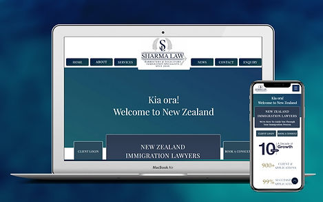 Law Firm Web Design Project Image