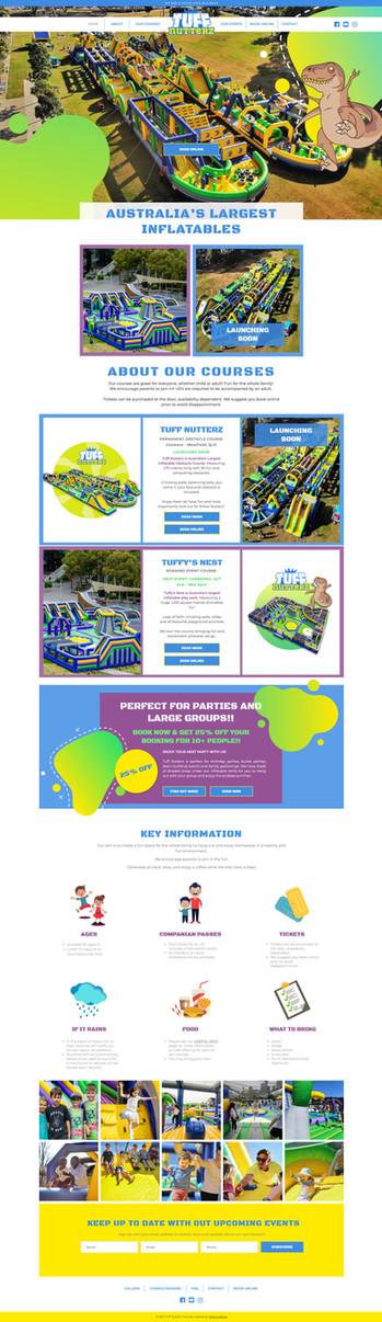 Children's Theme Park Obstacle Course We
