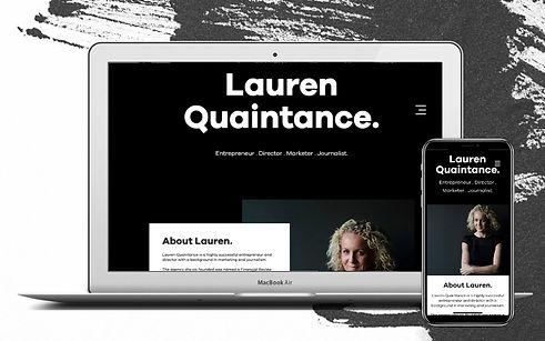 Project lauren Quaintance Web Desgn