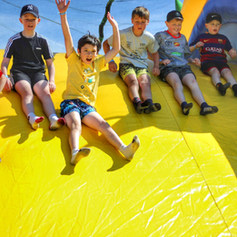 group event at tuff nutterz obstacle course in coomera queensland