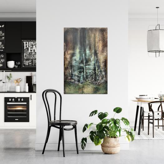 Wonderland Abstract Painting