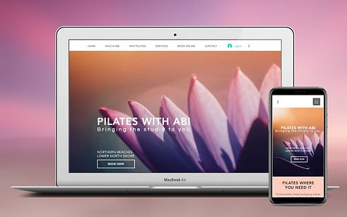 Project Pilates With Abi Web Design