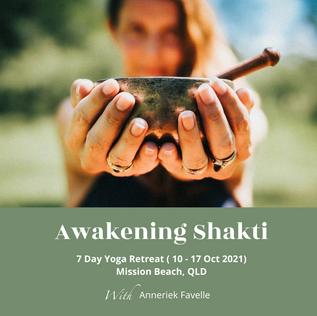 Awakening Shakti 7 Day Yoga Retreat