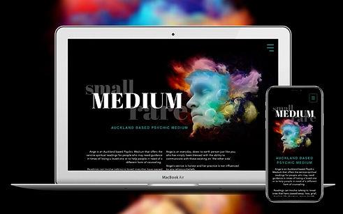 Project Small Medium Rare Web Design