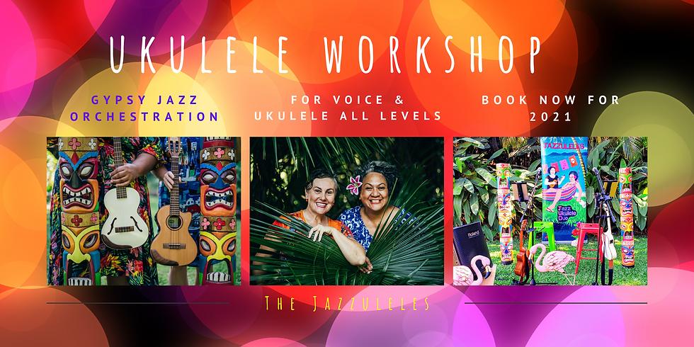 Workshop for Voice & Ukulele   Gypsy Jazz & Swing