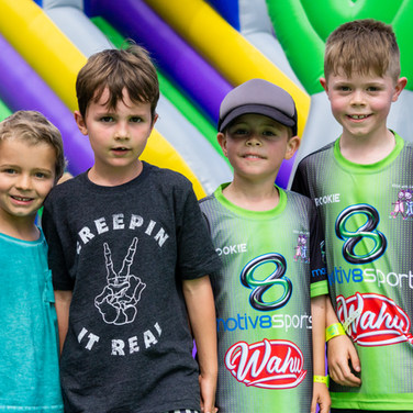 birthday party at tuff nutterz obstacle course
