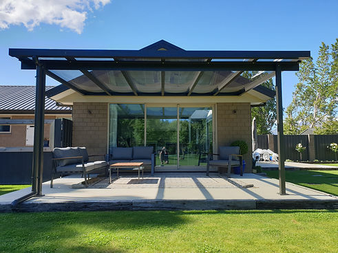 Exterior Roofing Solution For Patio