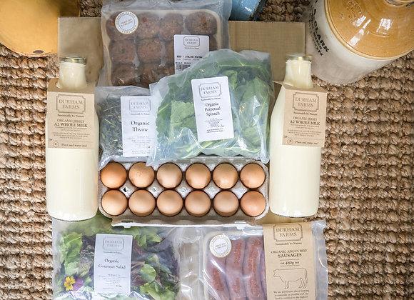 Essentials Organic Food Box