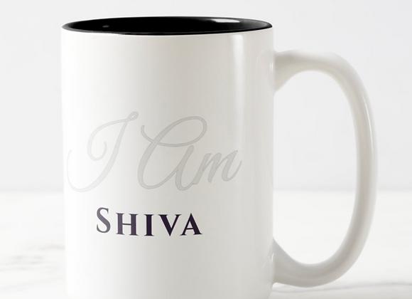 """""""I am Shiva"""" - XL Mug"""