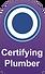 Certifying Plumbers