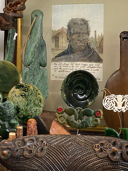Kiwa Art Shop Front Image In Parnell