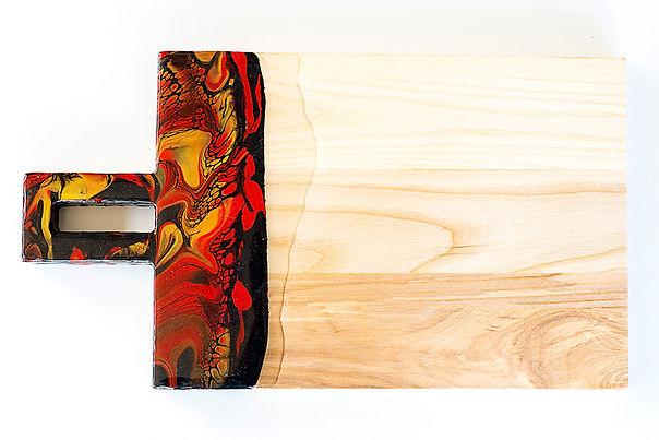 Resin & Wood Serving Board