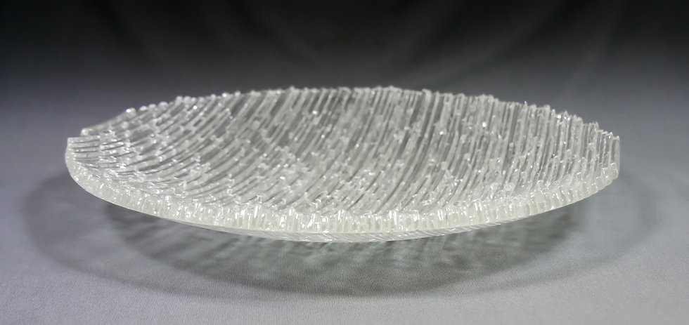 GBAUM Clear Ice 13.5x1.75 Glass $280 (3)