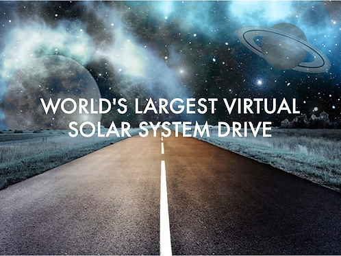 Highlights of the Virtual Solar System Drive with Fred Watson - Coonabarabran
