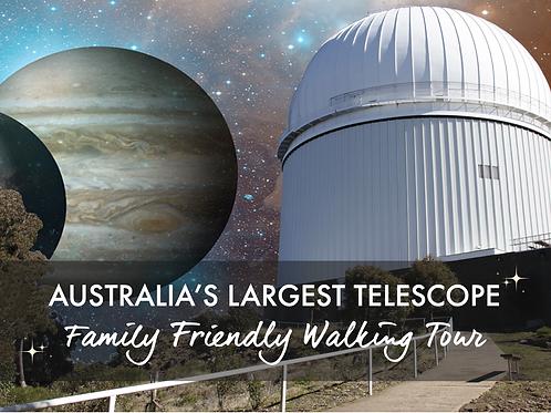 Australia's Largest Telescope Walking Tour