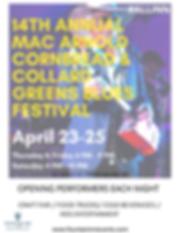 14th Annual Mac Arnold Cornbread & Colla