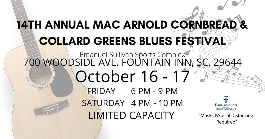 Copy of 14th Annual Mac Arnold Cornbread