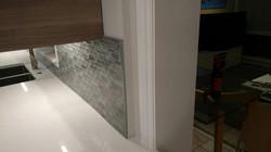 Frost White Quartz w_ Mosaic