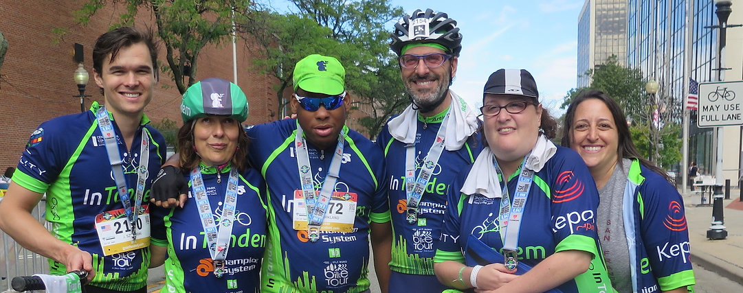 Photo of Intandem bike team