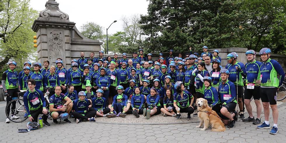 InTandem Five Boro Bike Tour Team Kick Off Call