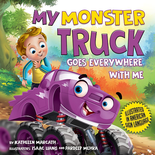 My Monster Truck Goes Everywhere with Me -PROMO CODE: PURPLE