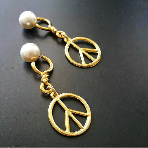 Chained Pacific Earrings