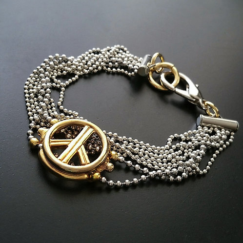 Chained Pacific Bracelet