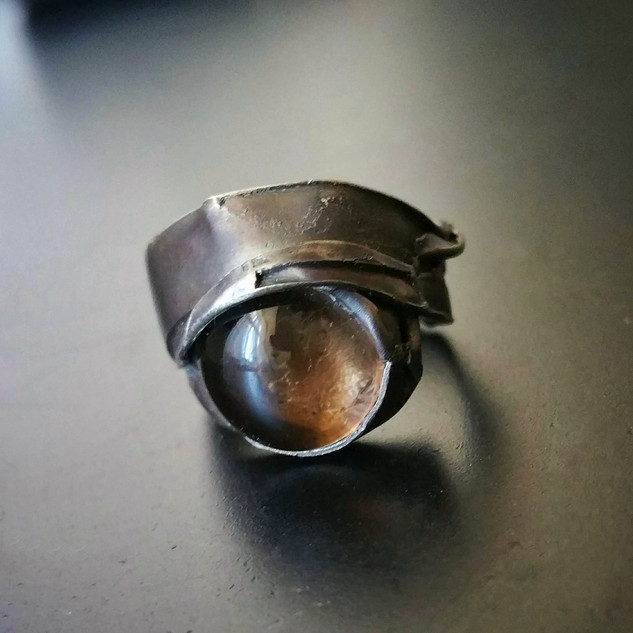 Wrapped Ring/Smoky