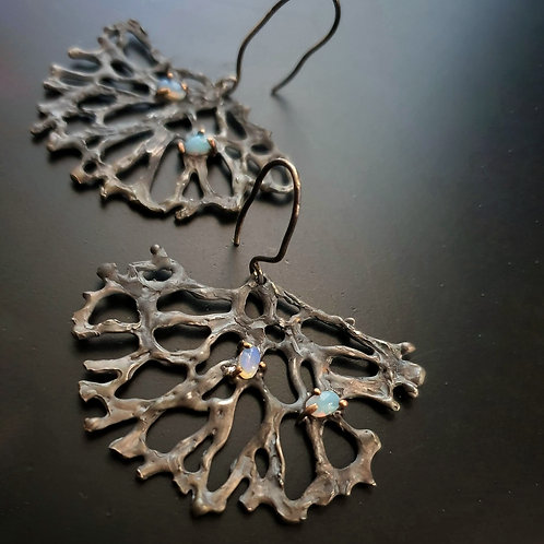 Spellbound with Сorals/Opal Earrings