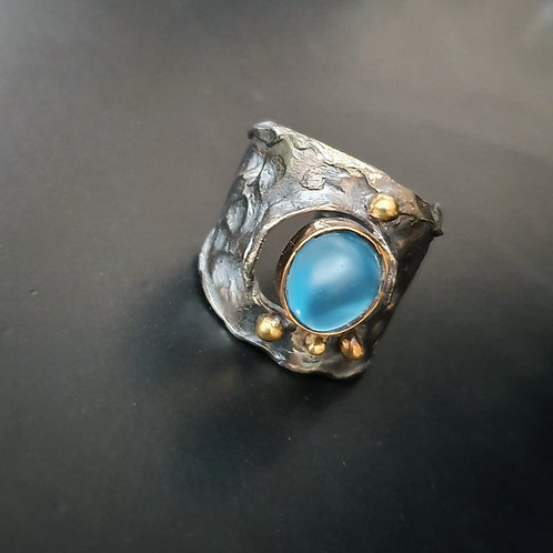 Spellbound with Corals/ Atoll Ring