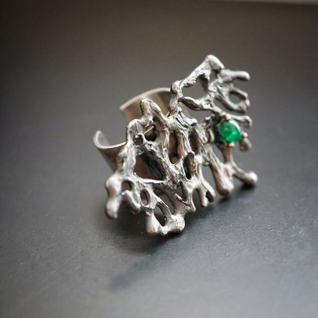 Spellbound with Corals Emerald