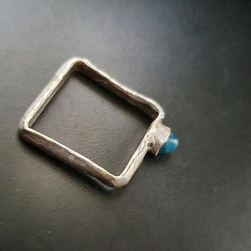 BareElements Geometry Ring/Apatite